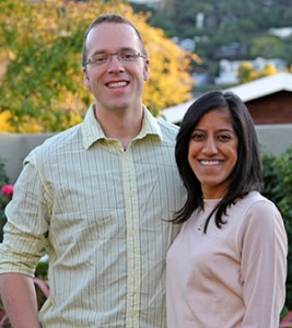 John Benediktsson '01 and Rajashree Karwa