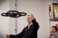 Quad-copter demonstration