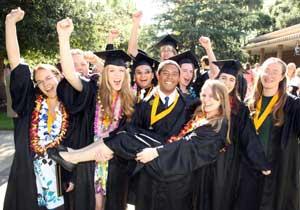 Happy HMC graduates