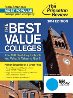 Princeton Review Best Value Colleges cover