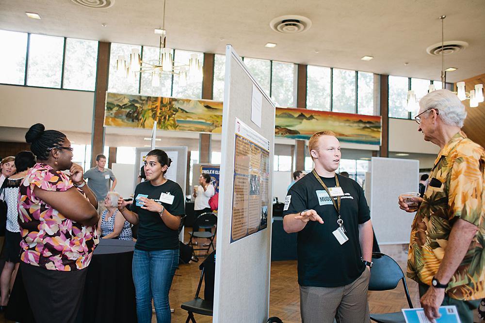 community engagement at Harvey Mudd