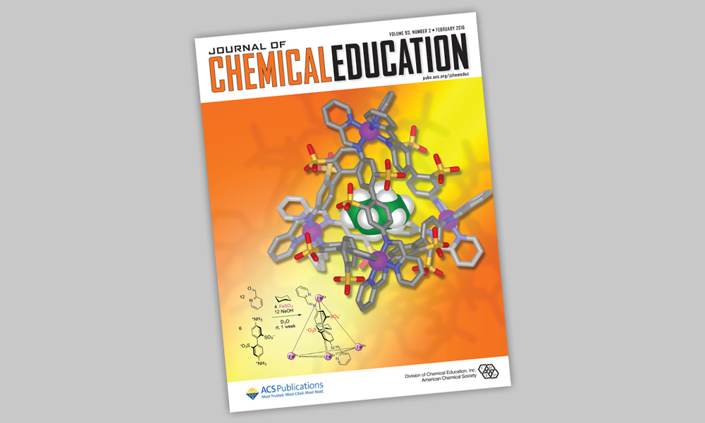 Cover of Chemical Education book.
