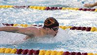 Aaron Lutzker '19, Harvey Mudd athlete