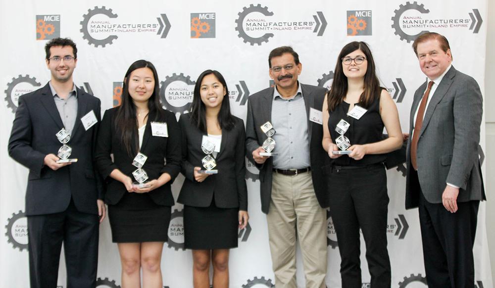 Harvey Mudd Engineering Clinic Team for Niagara Bottling