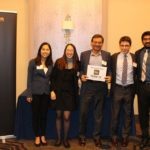 Winning Harvey Mudd team, APICS West Coast student case competition