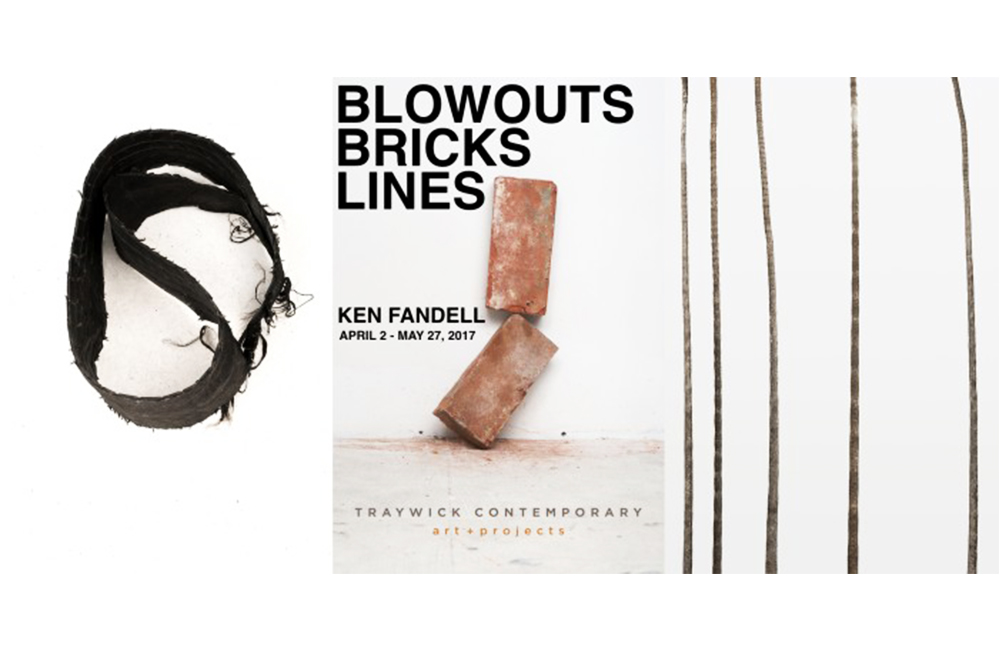 Blowouts Bricks Lines event poster