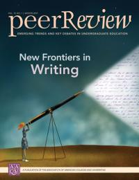 Cover image of Peer Review, winter 2017, a journal of AAC&U