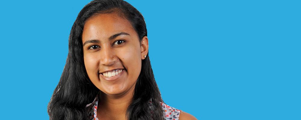 Nupur Banerjee '19, Harvey Mudd student