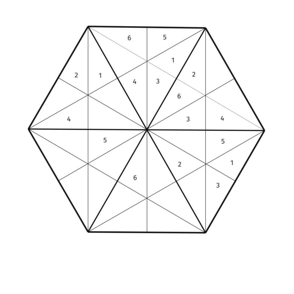 Suroku puzzle created by Kira Wyld '17, Harvey Mudd alumna