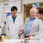 Professor Jerry Van Hecke and students