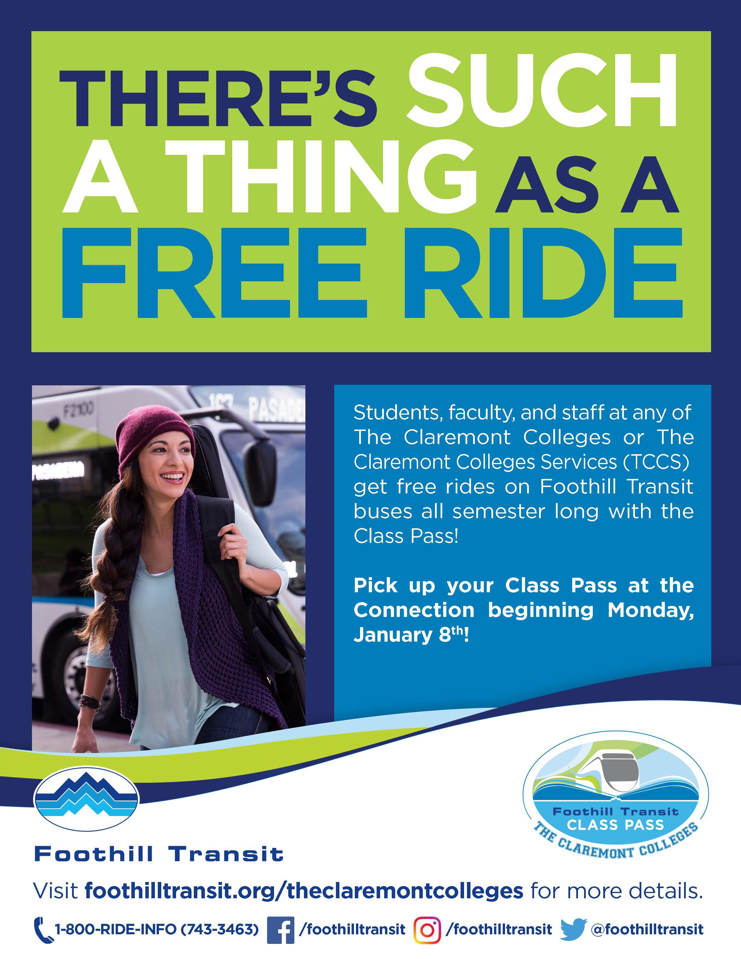 Class Pass flyer