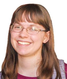 Leah Stevenson '19, Goldwater Scholar