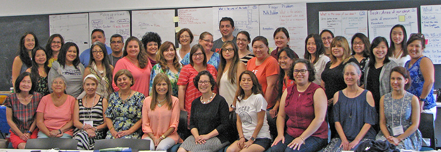 IMMERSION participants at Harvey Mudd College, July 2018