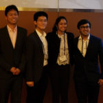 Students at the Case Competition