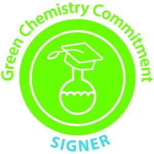 Green Chemistry Commitment signer logo