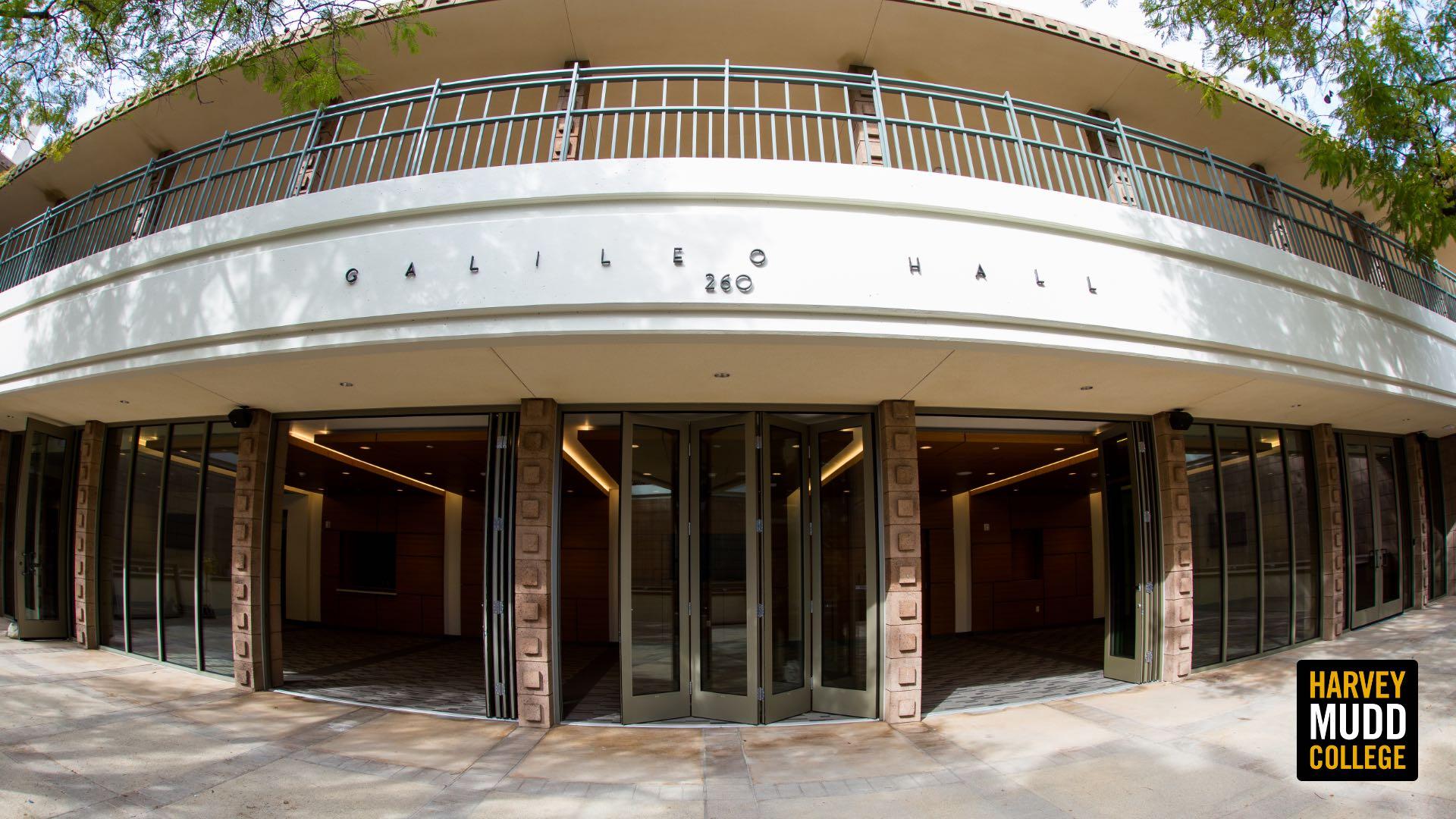 Galileo Hall exterior, Harvey Mudd College