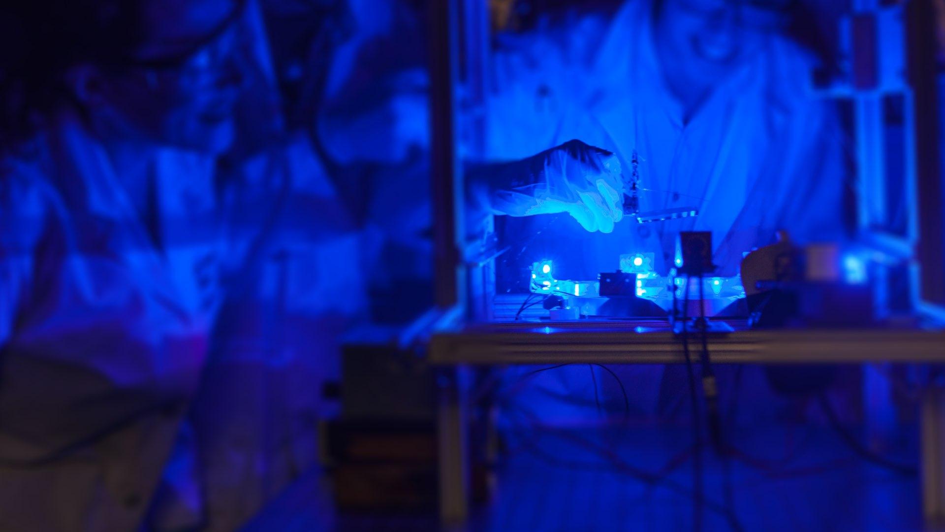 Lab experiment, Harvey Mudd College