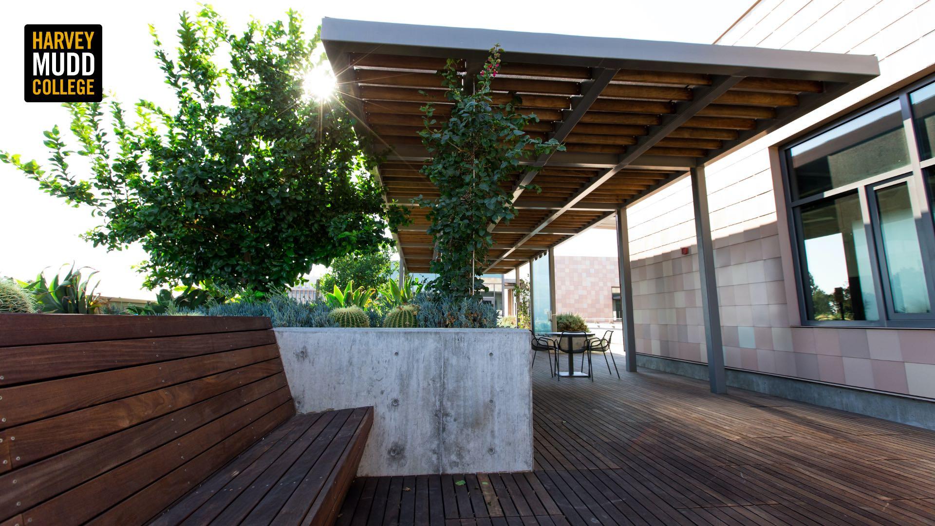 Outdoor classroom, Shanahan Center, Harvey Mudd College