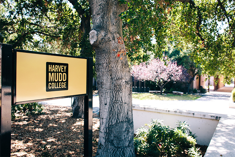 Harvey Mudd College sign