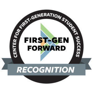 First-gen forward badge