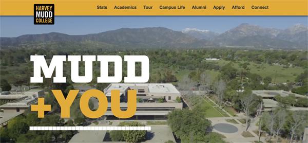 Mudd + You microsite screen shot