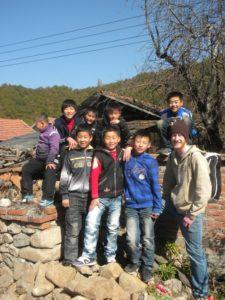 Harvey Mudd Watson Fellow Rob Best in Huangbaiyu, China