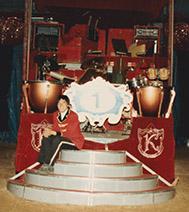 Harvey Mudd Watson Fellow Clarence Wang at Circus Knie
