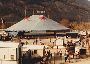 Harvey Mudd Watson Fellow Clarence Wang's photo of Circus Knie