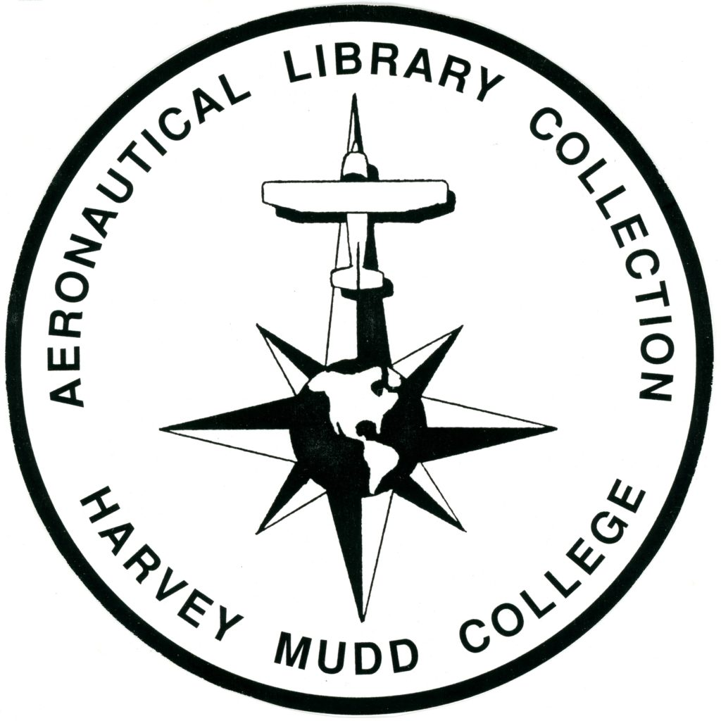 Logo: Aeronautical Library Collection, Harvey Mudd College.