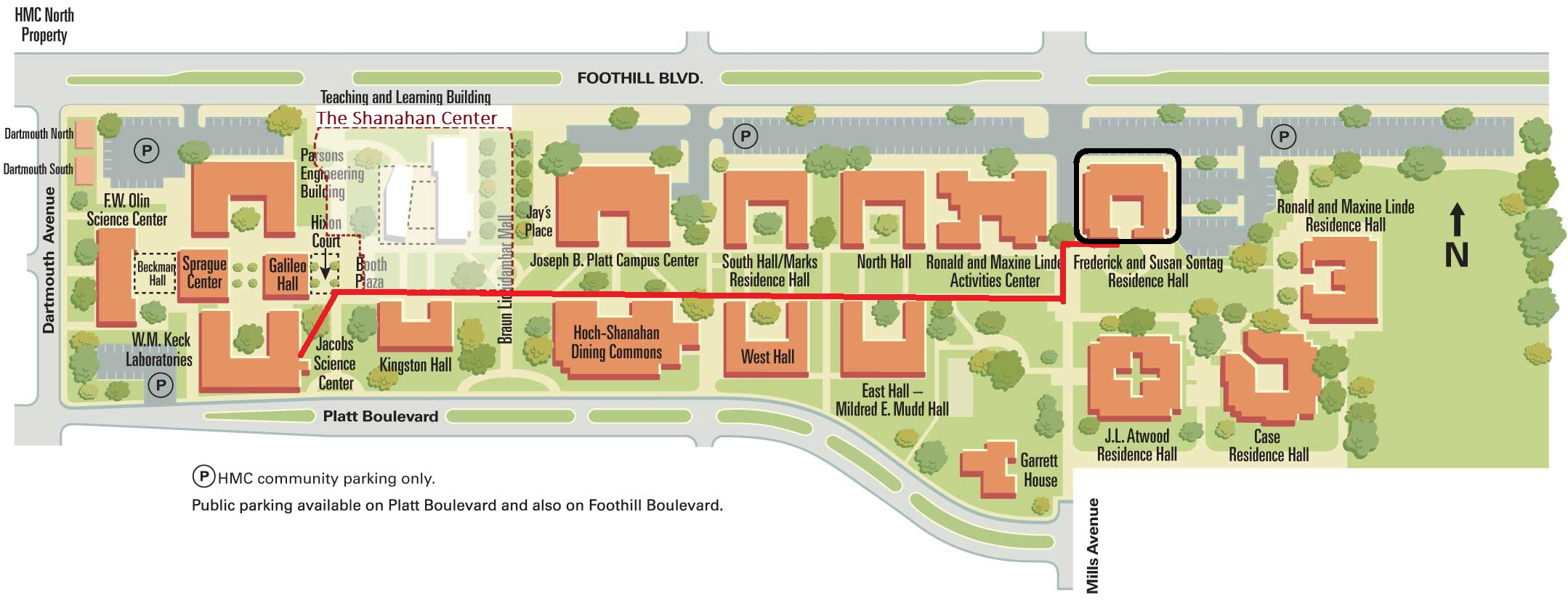 Claremont Colleges Campus Map.The First Few Weeks At Mudd Admission And Financial Aid Harvey