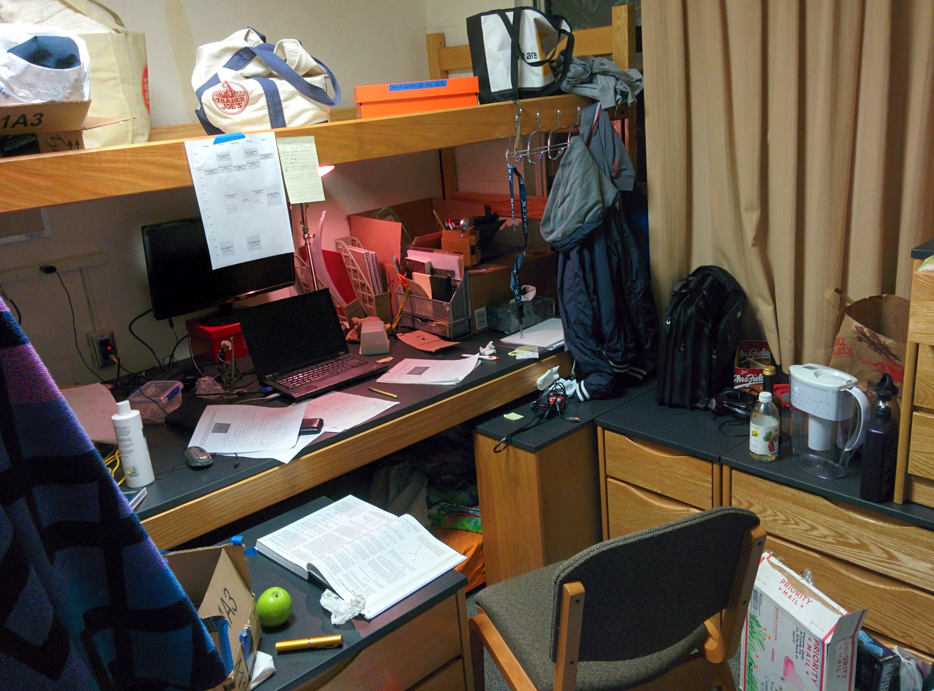 living in the dorm essay Free essay: living in a dorm or living at home have you ever enjoyed the whole sleepless night in a dorm with your friends students in dorms can do.
