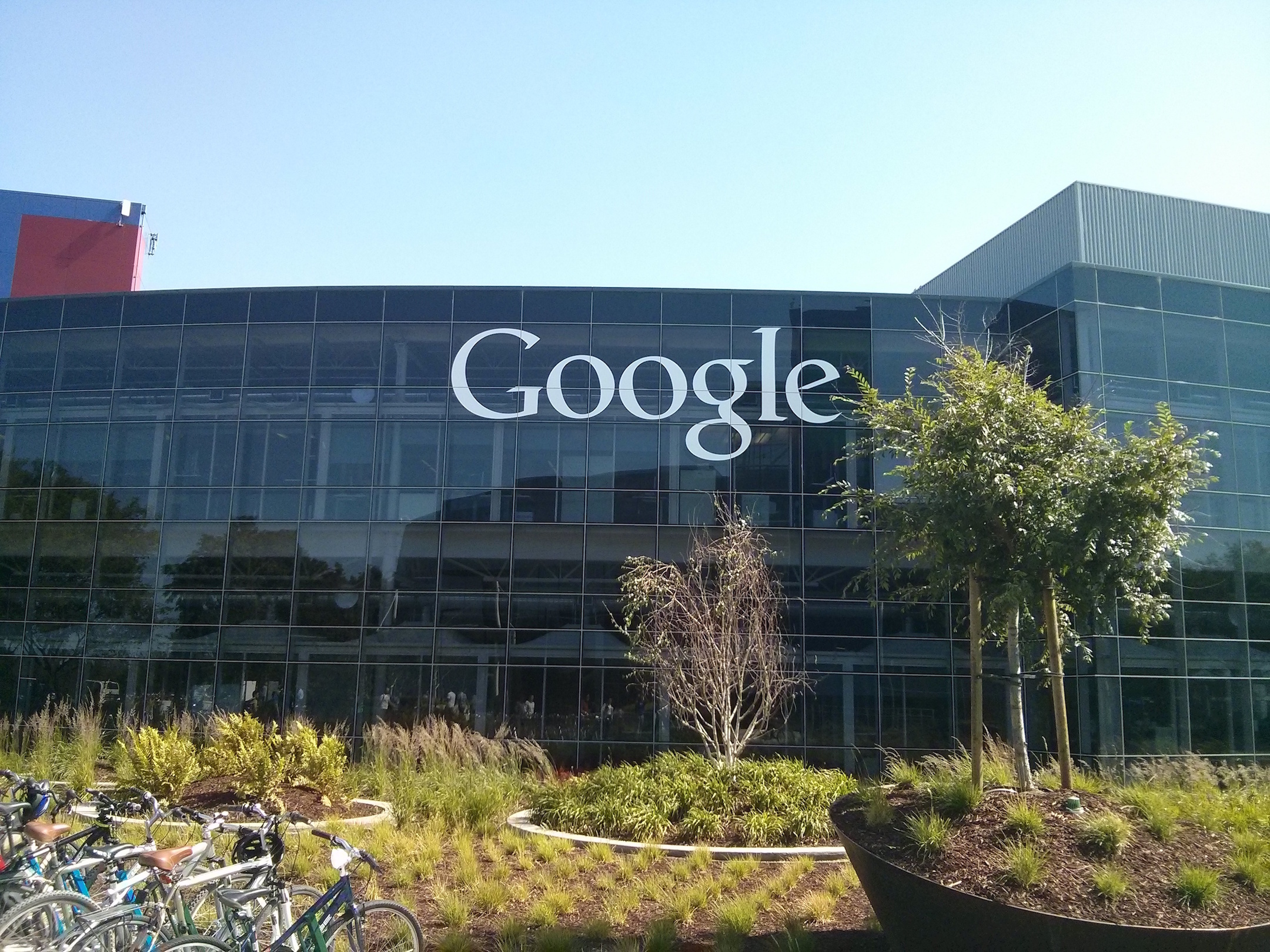 in the summer of 2014 i got to visit google headquarters in mountain view