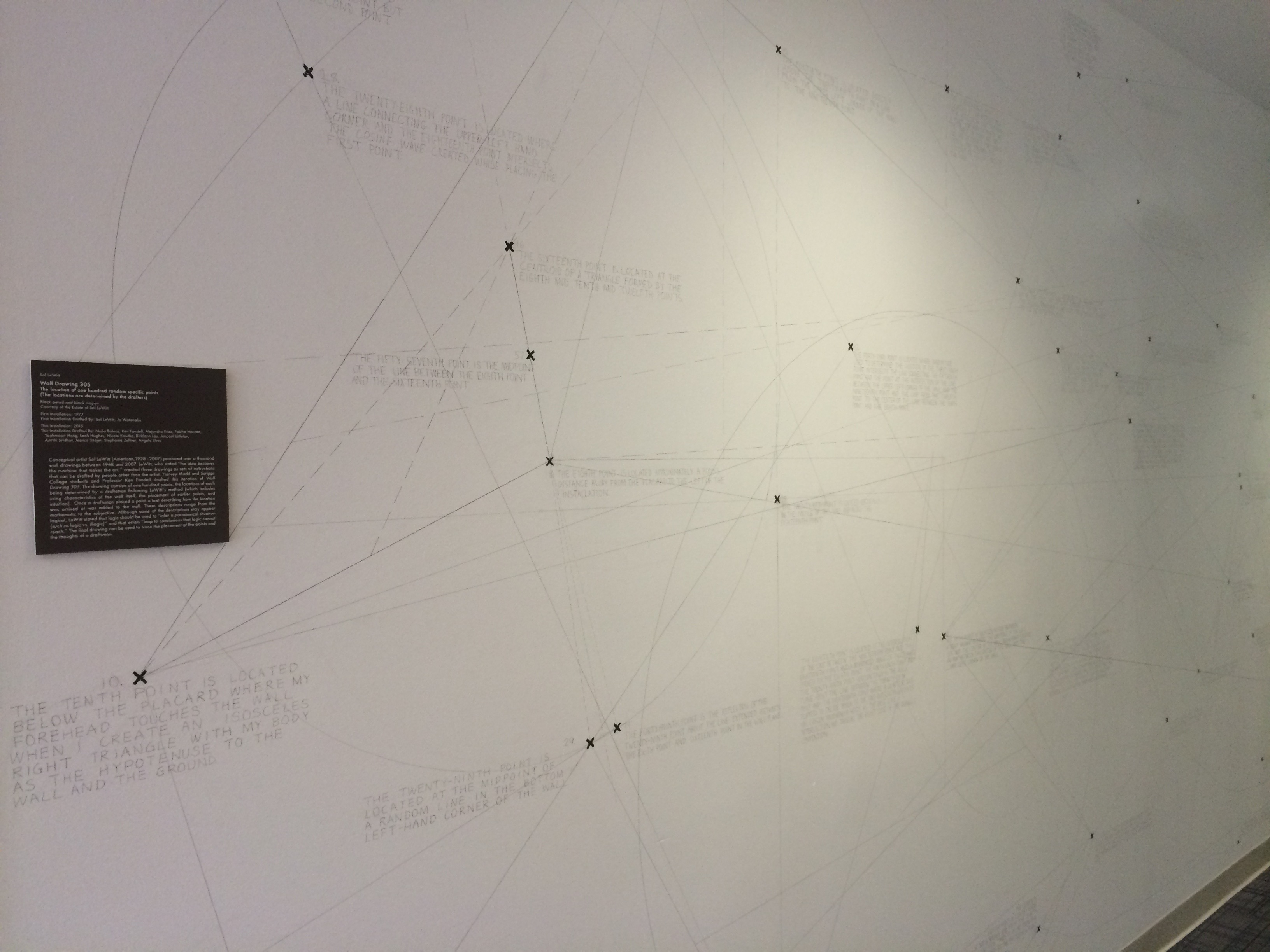 defining liberal arts harvey mudd college a more abstract art piece where each point is placed in relation to others