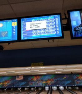 Bowling with CS research teams (I'm very embarrassed about my score)