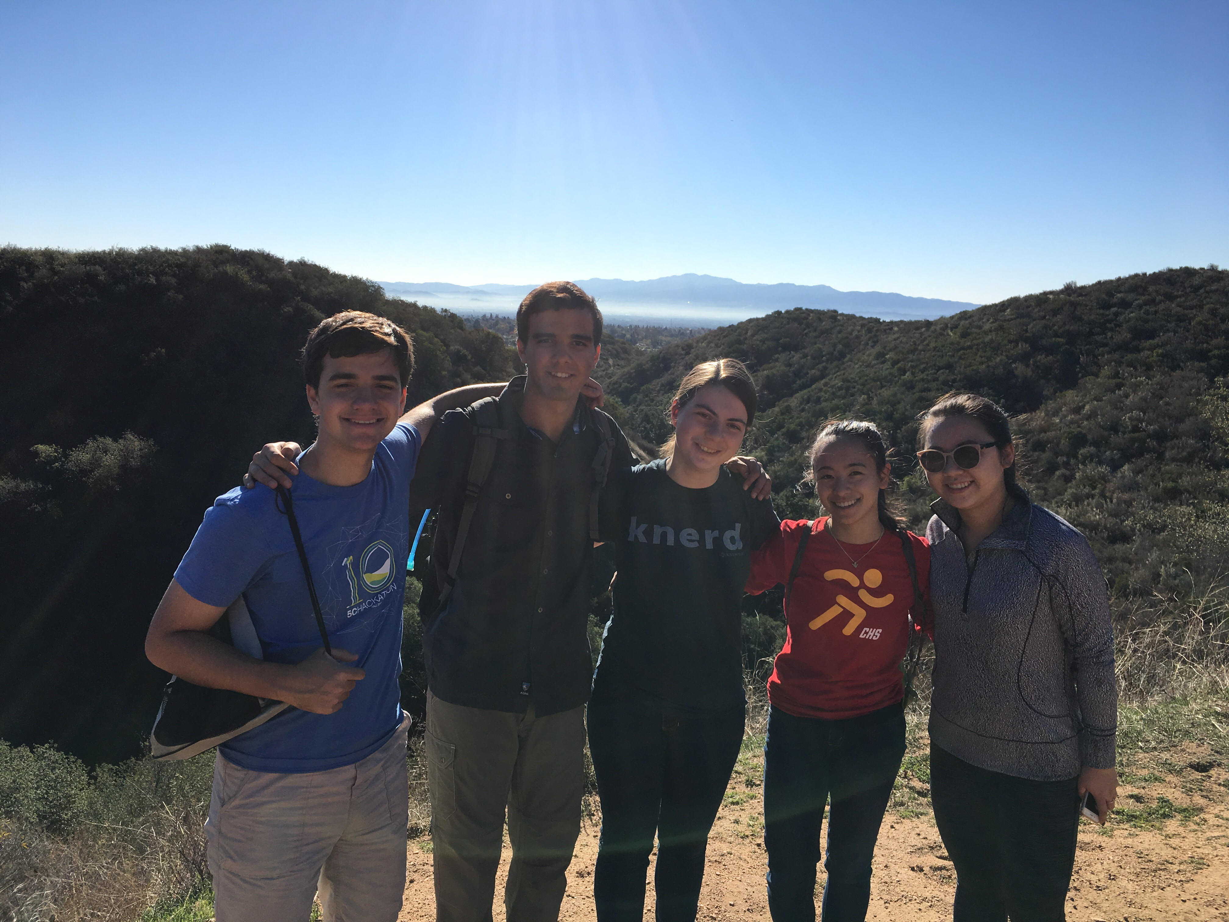 winding down for the semester harvey mudd college trail 3