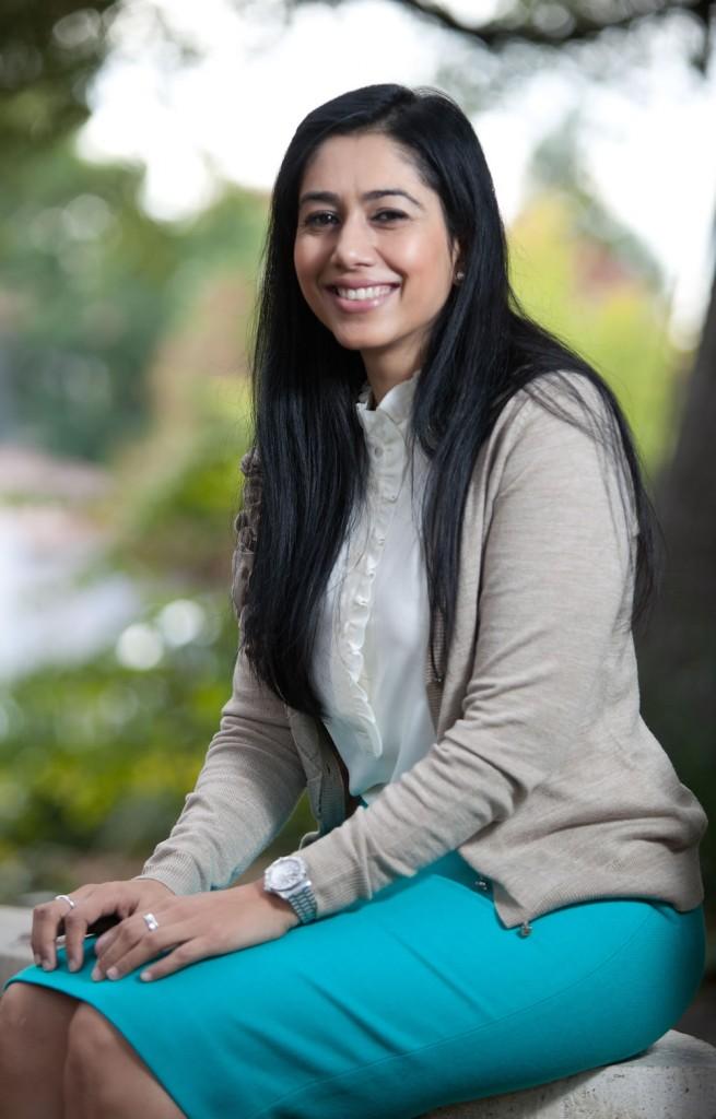 Literature professor Ambereen Dadabhoy