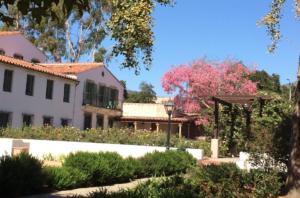 Scripps College's Rose Garden