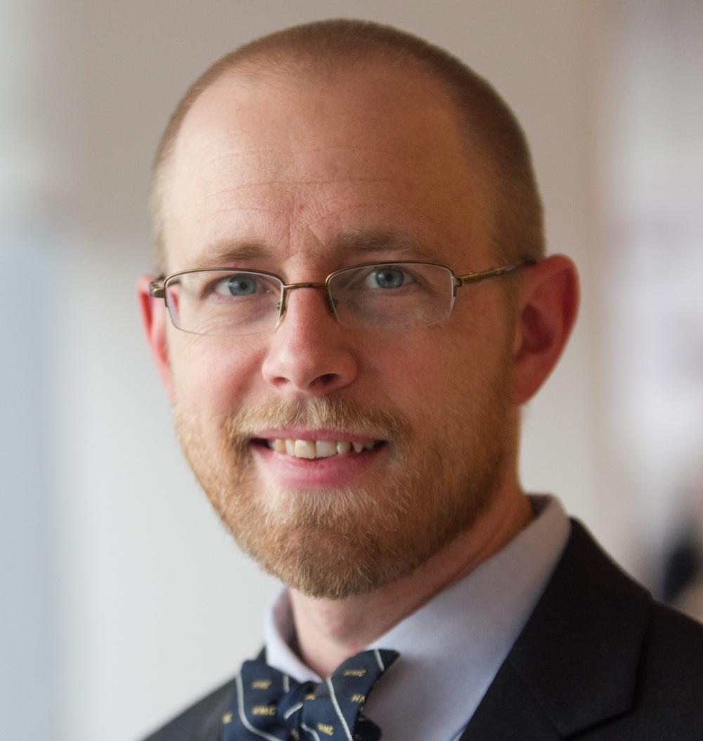Chemistry professor David Vosburg