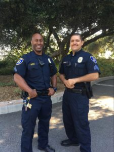 A photograph of Corporal Bates and Sergeant Varela.