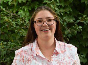 A headshot of Hannah Larson, Senior Intern