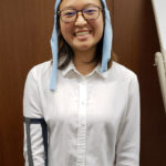 Sophia Cheng wears the West Wave monitor