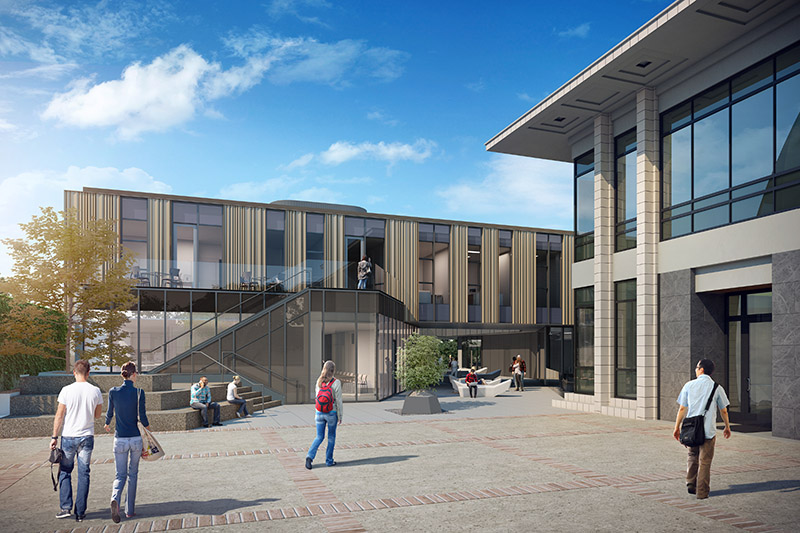 McGregor Computer Science Center rendering