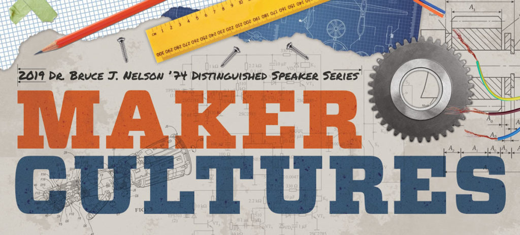 Nelson Series header: Maker Cultures
