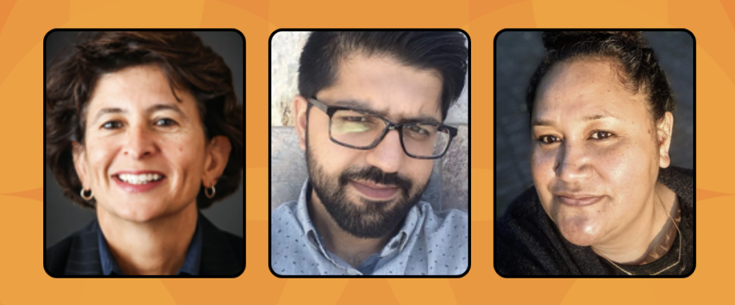 OID March 21, 2021 panelists Adriana Ayala, M. Bilal Nasir, Lolofi Soakai