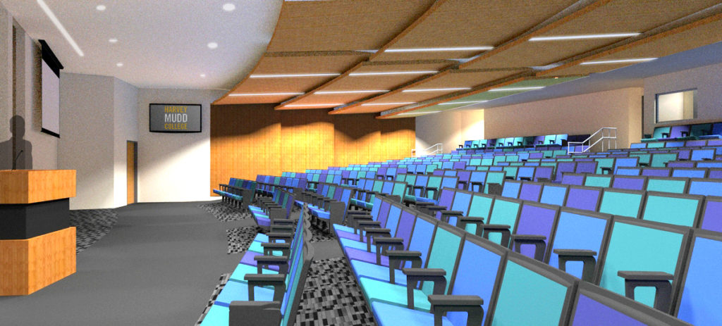 Rendering of renovated Galileo Hall.