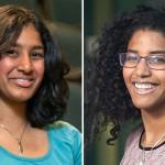 Priya Donti '15 and Sophia Williams '15