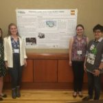 ESW/MOSS students presenting a poster at the ESW National Conference.