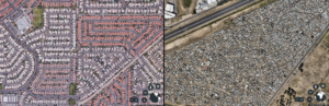 A comparison of Ahwatukee and Nyanga, a township in Cape Town