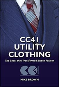 Advertisement on CC41 utility logo for clothing