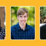 headshots of professors